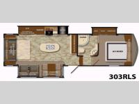 Floorplan - 2014 Grand Design Reflection 303RLS