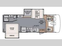 Floorplan - 2014 Forest River RV FR3 25DS