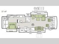 Floorplan - 2014 Tiffin Motorhomes Allegro Bus 37 AP