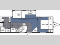 Floorplan - 2007 Dutchmen RV Denali 26FB-DSL