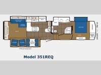 Floorplan - 2014 Prime Time Manufacturing Crusader 351REQ