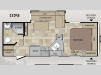 Floorplan - 2014 Keystone RV Cougar 215RB Link