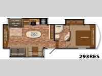 Floorplan - 2014 Grand Design Reflection 293RES