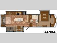 Floorplan - 2014 Grand Design Reflection 337RLS