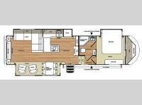 Floorplan - 2014 Forest River RV Salem Hemisphere Lite 327RES