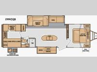 Floorplan - 2014 Cruiser Fun Finder F-299KIQB