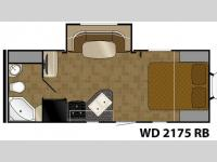 Floorplan - 2014 Heartland Wilderness 2175RB