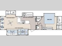Floorplan - 2007 Dutchmen RV Grand Junction 34QRL