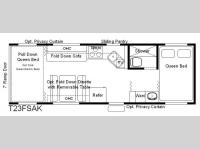 Floorplan - 2007 Eclipse Attitude T23FSAK