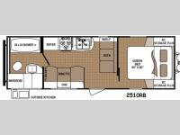 Floorplan - 2014 Dutchmen RV Aspen Trail 2510RB