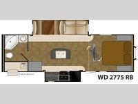 Floorplan - 2014 Heartland Wilderness 2775RB