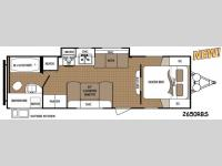 Floorplan - 2014 Dutchmen RV Aspen Trail 2650RBS