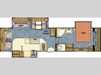 Floorplan - 2004 Gulf Stream RV Yellowstone 33 FKS