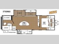 Floorplan - 2014 Dutchmen RV Aspen Trail 2730RBS