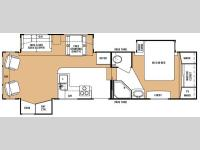 Floorplan - 2007 Keystone RV Everest 295TS