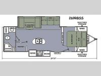 Floorplan - 2014 Coachmen RV Apex Ultra-Lite 269RBSS