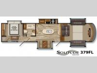 Floorplan - 2014 Grand Design Solitude 379FL