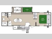 Floorplan - 2014 Forest River RV Surveyor Pilot SV 32RBDS