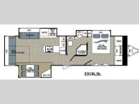 Floorplan - 2014 Dutchmen RV Kodiak 331RLSL Ultimate