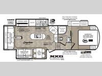 Floorplan - 2014 Forest River RV Wildcat 295RSX eXtraLite