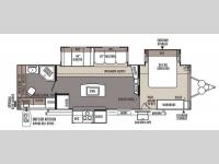 Floorplan - 2014 Forest River RV Flagstaff Classic Super Lite 829IKRBS
