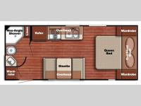 Floorplan - 2015 Gulf Stream RV Conquest Lite 218MB