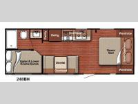 Floorplan - 2015 Gulf Stream RV Conquest Lite 248BH