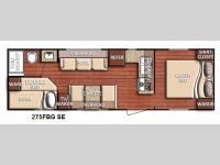 Floorplan - 2015 Gulf Stream RV Conquest 275FBG SE