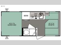 Floorplan - 2015 Forest River RV R Pod RP 171