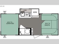 Floorplan - 2015 Forest River RV R Pod RP 178