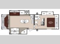 Floorplan - 2014 Forest River RV Surveyor SVF 293RLTS