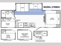 Floorplan - 2015 Palomino Canyon Cat 27RBSC