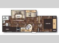 Floorplan - 2015 Forest River RV Cherokee 235B