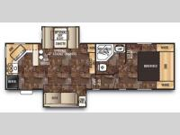 Floorplan - 2015 Forest River RV Cherokee 255P