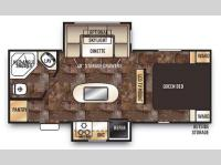 Floorplan - 2015 Forest River RV Cherokee 204RB