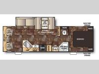 Floorplan - 2015 Forest River RV Cherokee 264L