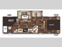 Floorplan - 2015 Forest River RV Cherokee 274DBH