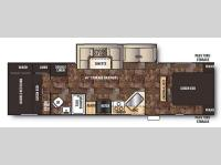 Floorplan - 2015 Forest River RV Cherokee 284BF