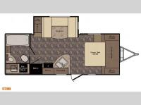 Floorplan - 2015 CrossRoads RV Sunset Trail Super Lite ST220RB
