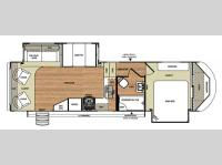 Floorplan - 2015 Forest River RV Wildwood Heritage Glen 266RLBS
