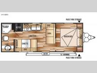 Floorplan - 2015 Forest River RV Wildwood X-Lite 241QBXL