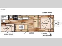 Floorplan - 2015 Forest River RV Wildwood X-Lite 261BHXL