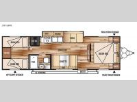 Floorplan - 2015 Forest River RV Wildwood X-Lite 281QBXL