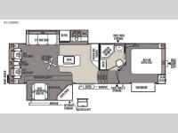 Floorplan - 2015 Forest River RV Flagstaff Classic Super Lite 8528IKWS
