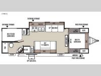 Floorplan - 2015 Forest River RV Flagstaff Super Lite 27BESS