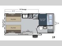 Floorplan - 2015 Keystone RV Carbon 19