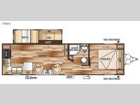 Floorplan - 2015 Forest River RV Wildwood 27RKSS