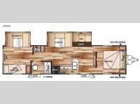 Floorplan - 2015 Forest River RV Wildwood 29UD3