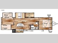 Floorplan - 2015 Forest River RV Wildwood 31BKIS