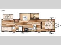 Floorplan - 2015 Forest River RV Wildwood 32BHDS